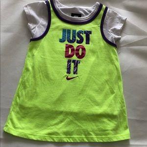 NWOT Nike Girls Top